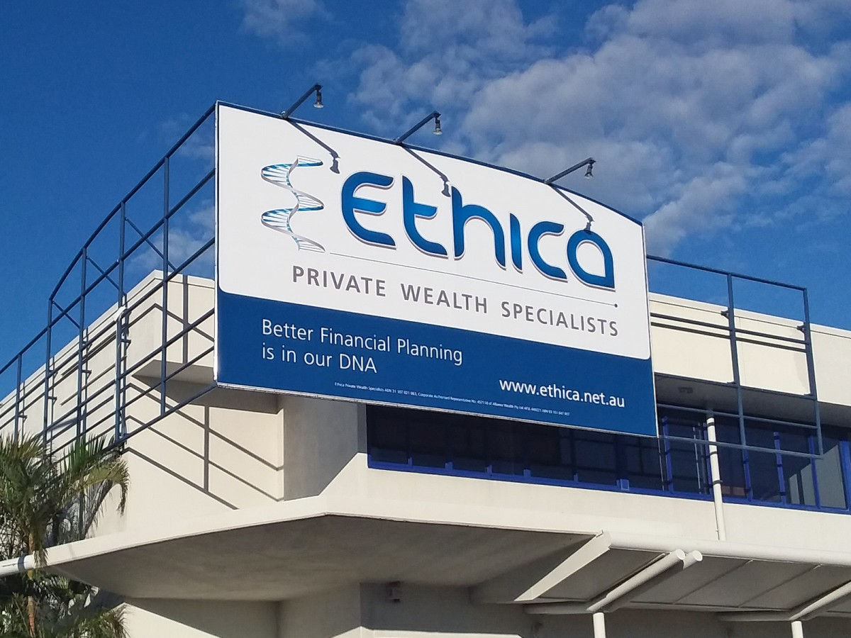 Ethica Private Wealth Specialists Sign